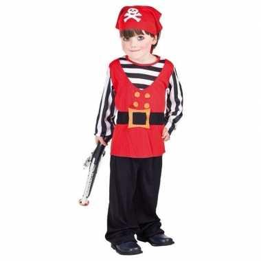 Carnaval  Peuter piraten kostuum