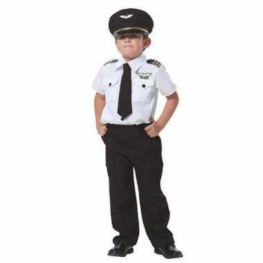 Carnaval piloot verkleed kostuum jongens
