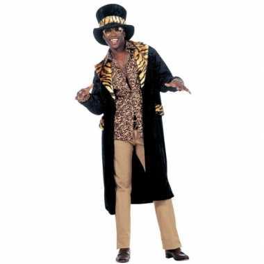 Carnaval  Pimp kleding heren kostuum