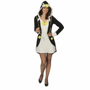 Carnaval pinguin kostuum jurkje dames