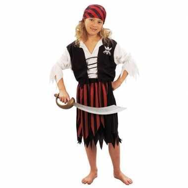 Carnaval  Piraten feestkleding meiden kostuum