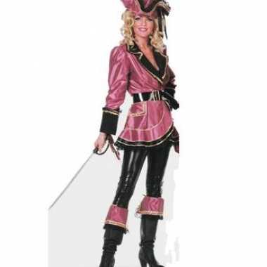 Carnaval  Piraten kleding dames kostuum