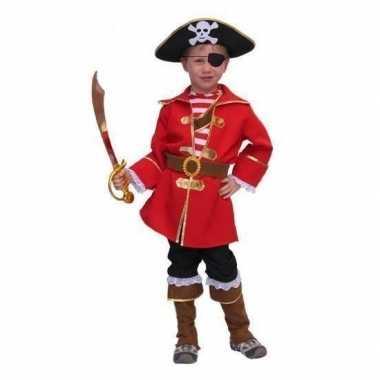 Carnaval  Piraten kleding kinderen kostuum