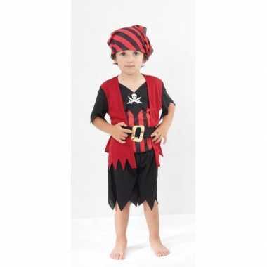 Carnaval  Piraten kostuum kinderen