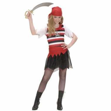 Carnaval  Piraten kostuum meisjes