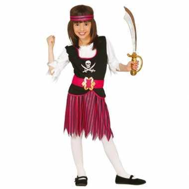 Carnaval  Piraten thema kostuum jurk meiden