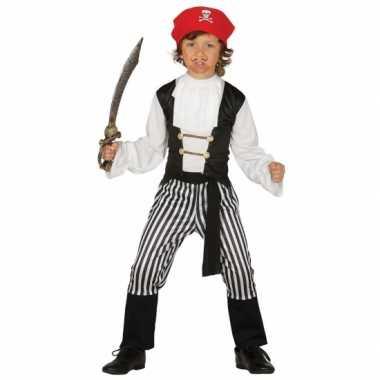Carnaval  Piratenkostuum jongens