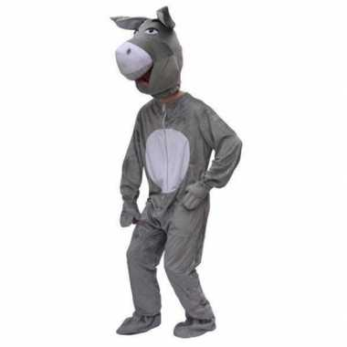 Carnaval  Pluche dierenkostuumken ezels