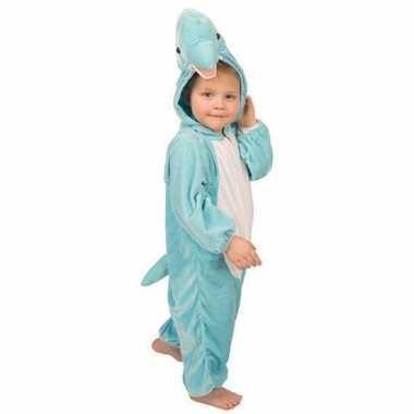 Carnaval  Pluche dolfijnen kostuum blauw