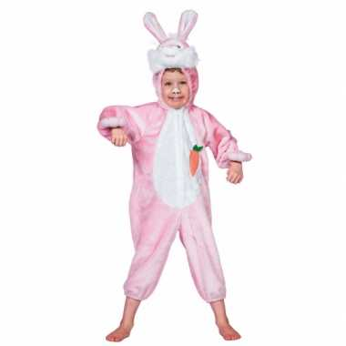 Carnaval  Pluche konijn kostuum kinderen