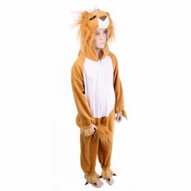 Carnaval  Pluche leeuwenkostuum kinderen
