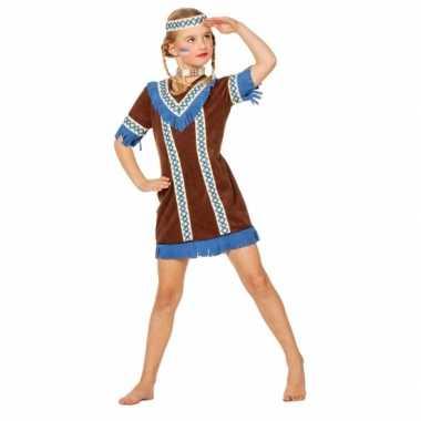 Carnaval  Pocahontas kostuum jurkje meisjes