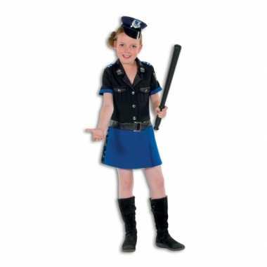Carnaval  Politie agent kostuum jurkje meisjes