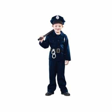 Carnaval  Politie agent kostuum kinderen