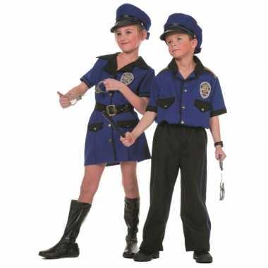 Carnaval  Politie kostuum meiden