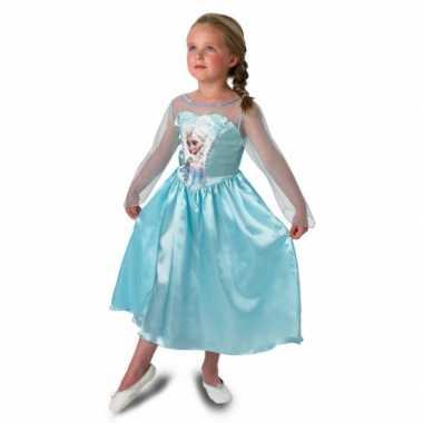 Carnaval  Prinsessen Feest kostuum Elsa meisjes