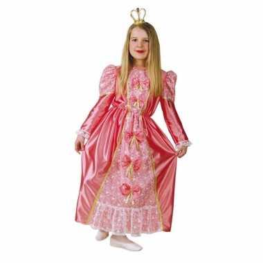 Carnaval  Prinsessen kostuum jurk roze kinderen