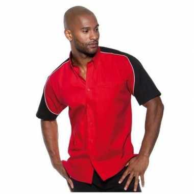 Carnaval race kostuum rood heren