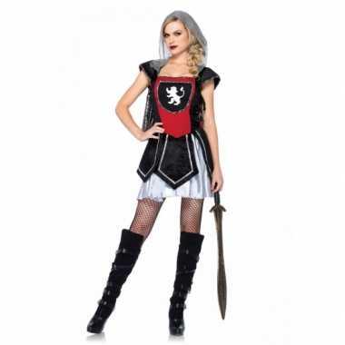 Carnaval  Ridder verkleedjurkjes dames kostuum