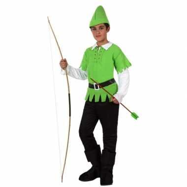 Carnaval  Robin hood kinder verkleed kostuum