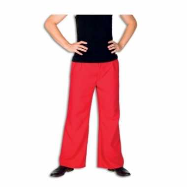 Carnaval  Rode kostuum broek heren
