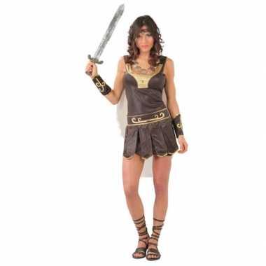 Carnaval romeinse gladiator kostuum dames