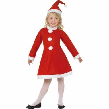 Carnaval  Rood kerst kostuum meiden