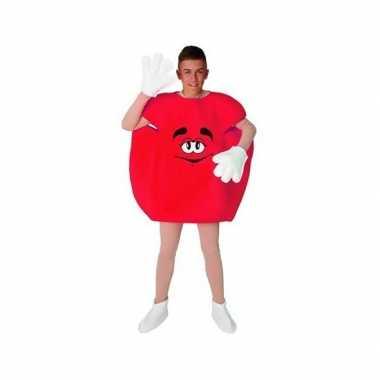 Carnaval  Rood snoep kostuum volwassenen