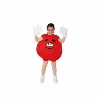 Carnaval  Rood snoep snoepje kinder kostuum