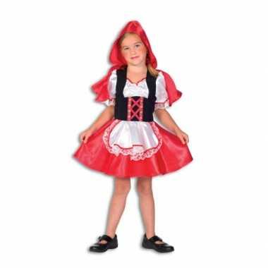 Carnaval  Roodkapje kostuum meiden