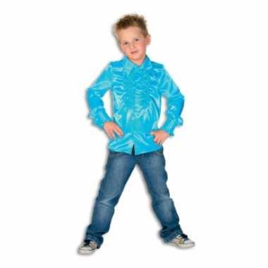 Carnaval  Rouche kostuum jongens blauw