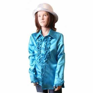 Carnaval  Rouche kostuum meisjes blauw