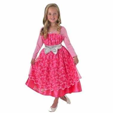 Carnaval roze barbie deleuk kostuum jurk meisjes