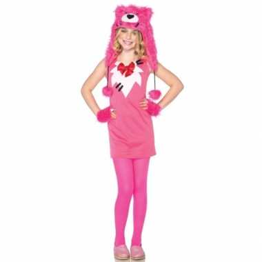 Carnaval  Roze berenkostuumje meisjes
