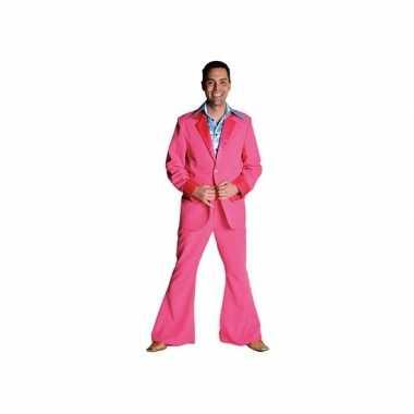 Carnaval  Roze kostuum heren
