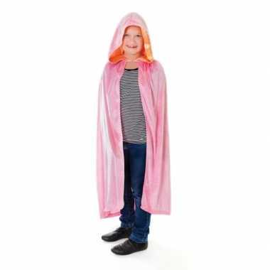 Carnaval  Roze prinsessenmantel meisjes kostuum