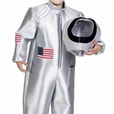 Carnaval  Ruimtekostuum kinderen zilver