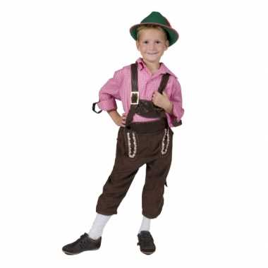 Carnaval  Schlager kostuum kinderen