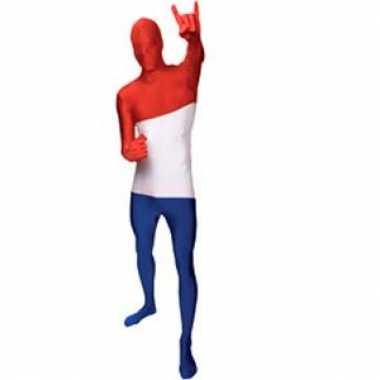 Carnaval  Second skin kostuum Nederland