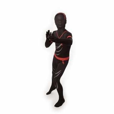 Carnaval  Second skin kostuum ninja kids
