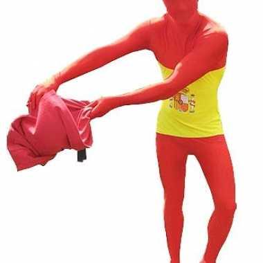 Carnaval  Second skin kostuum Spanje
