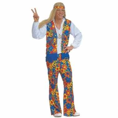 Carnaval  Sixties kostuum peace tekens