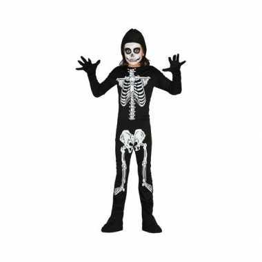 Carnaval  Skelet kostuum kinderen