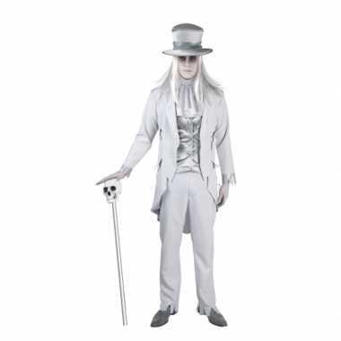 Carnaval  Spookachtige bruidegom kostuum heren