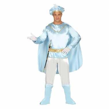 Carnaval sprookjesprins kostuum heren