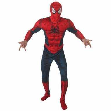 Carnaval stripboeken kostuum spiderman