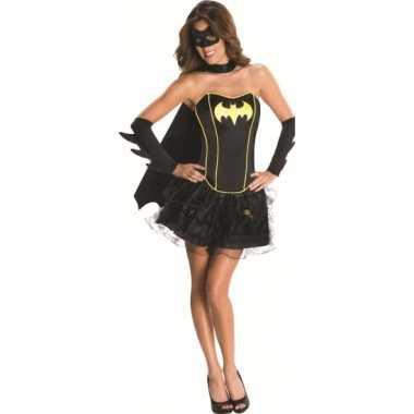 Carnaval superheld batman suit dames kostuum