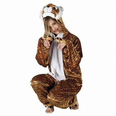 Carnaval tijger dierenkostuum dames