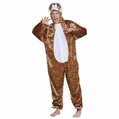 Carnaval tijger dierenkostuum kinderen
