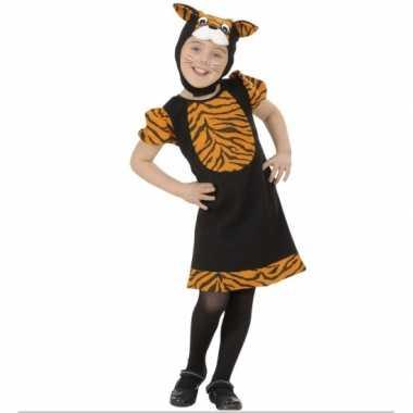 Carnaval  Tijgertje kostuum meisjes